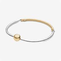 Charms 925 Sterling Sterling Silber Gleitmagnetische Schließe Schlangenkette Armband Multi Snake Kette Maus Herz Verschluss Armband