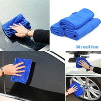 Car Sponge 1 5 10 PCS Microfiber Cleaning Towel Automobile Motorcycle Washing Glass Household Small
