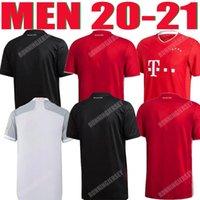 Homem futebol jersey 20 21 Lewandowski sane campeões adulto camisa de futebol casa bundesliga camisas de munich coman muller Davies homens kit humanrace