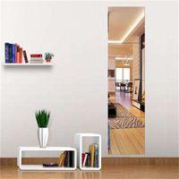 4 STÜCKE dekorative selbstklebende 3D Fliesen Wand Mosaik Spiegel Effekt Raum Square DIY Wohnkultur Aufkleber 30x30cm Y200103 750 K2