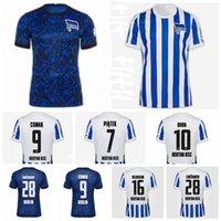 2020 2021 Hertha Bsc Soccer Jersey 7 Piatek 28 Lukebakio 10 Duda 16 Dilrosun 9 Cunha 17 Mittelstadt Hertha Berlin Футбольные наборы футболки
