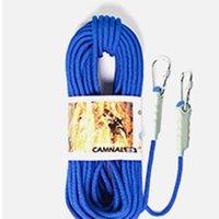 Gadgets ao ar livre 9.5mm corda de segurança de escalada 10 metros escape de laranja flutuante