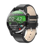 L13 스마트 시계 남자 IP68 방수 ECG PPG 블루투스 호출 혈압 심박수 피트니스 트래커 스포츠 Smartwatchs Mens Watches