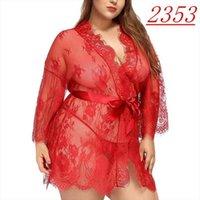 Silk Robe Sexy Lingerie Womens Sleepwears Underwear Lace Open Bra Erotic Teddy Costumes Nightwear Briefs