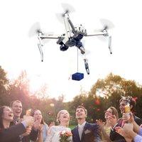 Mavic Mini 2 Payload Drone Airdropper Clip Consegna Dispositivo di trasporto per il trasporto da sposa Bait Strumento di salvataggio per DJI Mini 2 Accessori Y0302