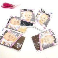 Peruk Kapaklar 2 Adet / Paket (12 Packs) Peruk Kap Saç Net Örgü Saçnetler Için Peruk Nets Streç Mesh Peruk Kapmak için Peruk Ücretsiz Boyutu Yapmak için Kapak