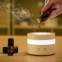 Aroma essential oil cold mist humidifier, adjustable spray mode, automatic shut-off without water and 7-color light replacement, suitable