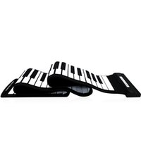 High Quality USB 88 Keys Midi roll up Electronic Piano Keyboard Silicone Flessibile PROFESSIONAL ORGANICO ELETTRONICO