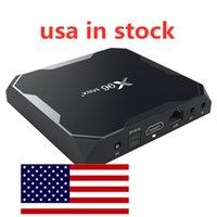 アメリカ倉庫からの船舶X96マックスプラスアンドロイド9.0テレビボックス4GB RAM 32GB 64GB ROM Amlogic S905X3 8K 2.4G5GデュアルWiFi 1000m