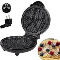 Pişirme Kalıpları Elektrikli Mutfak Waffle Maker Kalıp Demir Kahvaltı Kek Makinesi Kabarcık Yumurta Fırın Yapışmaz 220 V