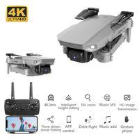 2021 NUEVO E88 RC Mini Drone Drone 4K HD Drone con doble cámara DRONE FPV WiFi Transmisión en tiempo real Quadcopter RC DRON Toys