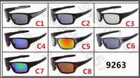 Yüksek Kaliteli Moda Eğilimler Kadın Erkek Güneş Gözlüğü Gözlük Vahşi Anti-UV Güneş Gözlüğü 9263 Vintage Spor Güneş Gözlükleri