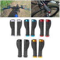 Bicicleta guidão Componentes Ergonómico Handle Grip Estrada Ciclismo Bicicleta Anti-Skid Borracha Bloqueio Guiador RXBC