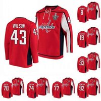 KOB Washington Capitals Tom Wilson 2020 Stanley Cup Playoffs Jersey Hoodie Alexandre Ovechkin Nicklas Backstrom Braden Holtby Oshie Jerseys