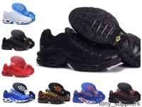 Продажи 2019 Мужские Беговые Обувь TN Оригинальные Мода Черный Белый Высокое Качество Новые Дизайн Chaussures TN PLUS Кроссовки Кроссовки Обувь Обувь 7-12