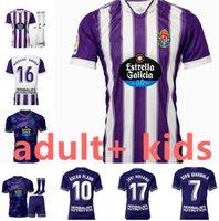 Kit pour enfants adulte 21 22 Vrable Valladolid Soccer Jerseys 2022 Fede S. Sergi Guardiola óscar Plano Camisetas de Football Chemises de football