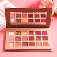 18 cor paletas de sombra de olho sombra de olho sombra pigmentada sombra pó compõem produtos fáceis de usar