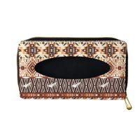 Tissue Boxes & Napkins 1 Pcs Car Box Retro Ethnic Tribe Pattern Sun Visor Holder Auto Interior Storage Decoration Accessories