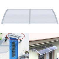 Tentes et refuges porte auvent auvent avant arrière arrière porche de l'ombre de plein air housse de patio polycarbonate