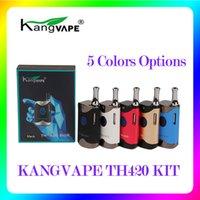 100% Original Kangvape TH420 Starter Kit With 650 mAh Battery TH-420 Vape Box Mod For Thick Oil Cartridge Atomizer