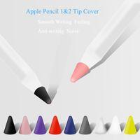 Compatible avec le crayon Apple 1 TIPS Remplacement de la 2e GEN Silicone NIBS Protection de la couverture pour la couverture de nib de crayon Apple