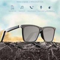 Smart VIb Audio Glass 5.0 Ascoltando canzoni e tamponi da sunglass di vetro in vetro