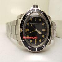 BP Factory Antique Version Best 1972 версия 1665 двойной красный 40 мм черный циферблат керамическое качество 2836 перемещение автоматические мужские часы наручные часы