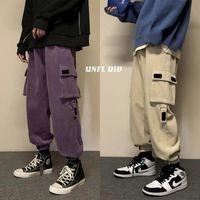 Neploha Uomo Casual Oversize Pantaloni cargo 2021 Autunno Inverno Nuovo Streetwear coreano Pantaloni moda uomo Abbigliamento hip hop