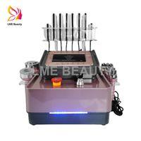ultrasonic cavitation fat slimming machine lipo laser weight loss radio frequency skin tightening beauty equipment 6 heads
