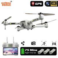 GW90 Quadrocopter GPS Dron 4K Drone con fotocamera HD Seguimi RC Helicopter Brushless FPV Professional Drones VS F11 Pro Zen K1