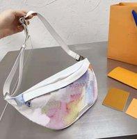 2021 رجل المرأة المائية مصمم حقائب الخصر الأزياء نمط حقيبة الصدر أعلى جودة حقائب جلدية حقيبة يد الفتيات