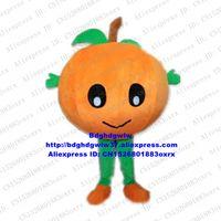Maskottchen Kostüme Orange Arancia Mandarin Mandarine Mandarino Maskottchen Kostüm Erwachsene Karikatur Charakter Karneval Fiesta Markenname Promotion ZX25