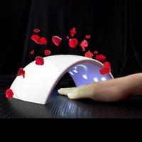 SUNUV Artı 36 W 18 LED'ler UV Tırnak Kurutucu Lambası 110 V-240 V Lamba Tüm Jeller için 30 S / Düğme Mükemmel Başparmak Çözüm Sanat Makinesi Araçları