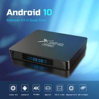 Nouveau X96Q Pro Android 10.0 TV Boîte TV H313 Chuce 2GB 16GB 2.4g 5G WIFI 4K Boîte de télévision intelligente