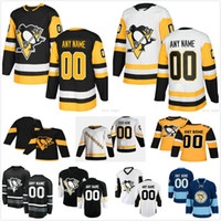 Personalizado homens mulheres crianças 2021 reverso retrô pittsburgh pinguins patric hornqvist sam lufferty peluche blueber tristan jarry yannick weber jersey