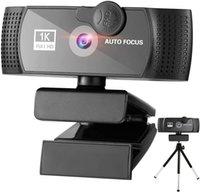 Vigilancia de seguridad CCTV LENS WORDOR WEBCAM 1080P Full HD Cámara Cámara de ruido Cancelación Micrófono Múltiples compatibilidad de software Vibrantes imágenes plug and play