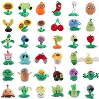 Bitkiler vs zombiler peluş oyuncaklar doldurulmuş hayvanlar pvz bitkiler bebek 15-20 cm boyunda