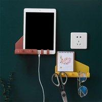 Tools Rails Мобильный телефон Таблетка Творческий Универсальный Пластиковый Стенд Стеновое хранение Многоцелевые Простые и современные Держатели Дом