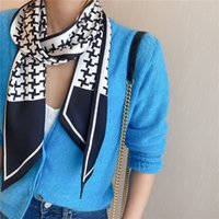 Versión estrecha de la moda de la pequeña bolsa de mujer Bolsa de bobinado Handle Silk Skand Small Ribbon Tie Big Tie Ir con arco multicolor Pequeña banda
