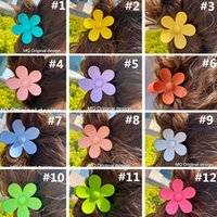 Women Girls Elegant Hair Claw Prty Favor Big Flower Designer Hairpin Barrettes Beautiful Hairs Clip Accessories Fashion Hairgrip Headwear Classy