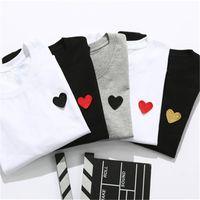 2021 Mens Tshirt Womens manica corta di alta qualità tees Lettera stampa vestiti stile hip hop con scatola tag