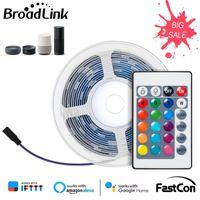 Smart Home Control Broadlink Светодиодная Света Света DIY Гибкий Ремешок Fastcon Беспроводное соединение для Alexa Google RGB Dimmable