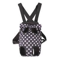 New Fashion Dog Cat Pet Dog Dog Puppy Carry Front Carrier Backpack Outdoor Mochila Bolsa con el patrón de Bowknot lindo Soporte para mascotas para la venta 717 K2