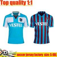 21/22 Trabzonspor Jersey 2021 2022 Jerseys de football A. Nwakaeme C. Ekub Gervinho B.Peres Accueil Hommes Football Chemise Chemise Sleeve Uniformes adultes