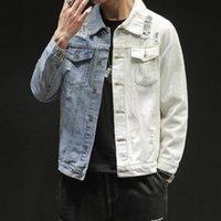 Мужские куртки Feitong хорошие мужчины весна осеннее вельвера винтажным эпизодом негабаритных модных покрытий Уличная одежда мужская повседневная мода