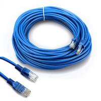 RJ45 كبل إيثرنت 1 متر 3 متر 1.5 متر 2 متر 5 متر 10 متر 15 متر 20 متر 30 متر ل cat5e cat5 شبكة الإنترنت التصحيح الشبكة LAN كابل الحبل للكمبيوتر LAN شبكة الشبكة