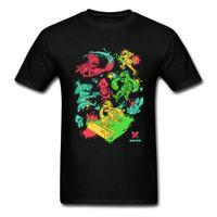 CCCCSPortinteresting Men Tshirt Летняя падение мода новая мультфильм футболка для студента 2018 Hiohop Смешные аниме футболки Squid Wars