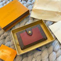 M69433 Juliette محفظة مصمم إمرأة Zippy Rosalie Coin محفظة مضغوط بطاقة مفتاح حامل الحقيبة مصغرة pochette accessoires cles victorine محفظة M69432 N60380