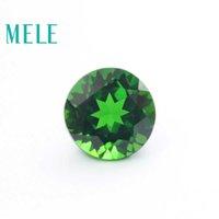 جودة عالية كروم جوهرة الكروم جوهرة لصنع المجوهرات، 6 ملليمتر جولة قطع 1.2ct فضفاض الأحجار الكريمة diy مجوهرات ستون H1015