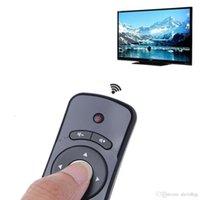 T2 플라이 마우스 2.4G 무선 3D 자이로 모션 스틱 원격 제어 PC 스마트 TV OCT12